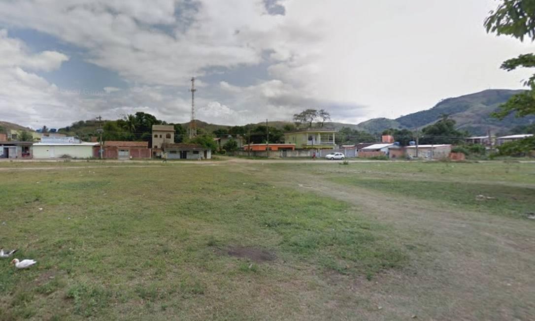 Mulher foi assassinada na Avenida Marques de São Marcos, em Nova Belém, Japeri Foto: Reprodução / Google Maps