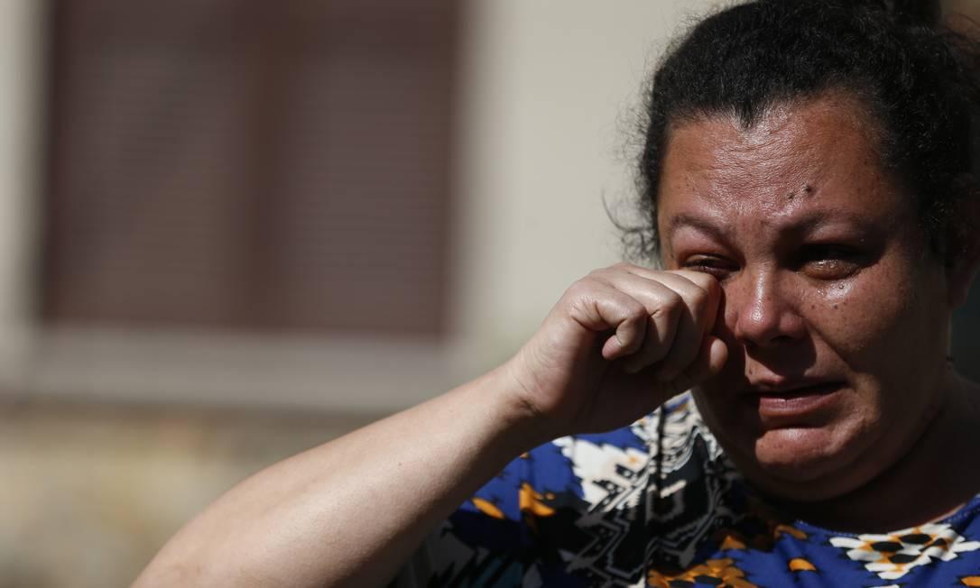 Milena Borges Alves presenciou morte do marido em supermercado Foto: Lauro Alves / Agência RBS