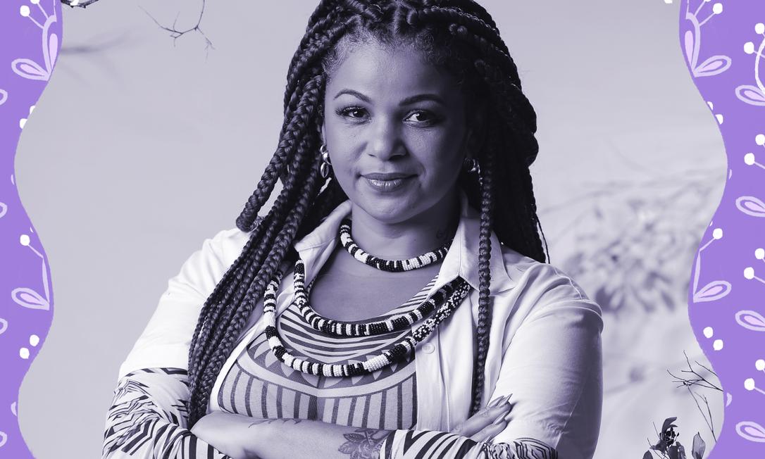 """""""Sou uma mulher preta, periférica e capixaba, com orgulho"""", diz Priscila Gama Foto: Divulgação"""