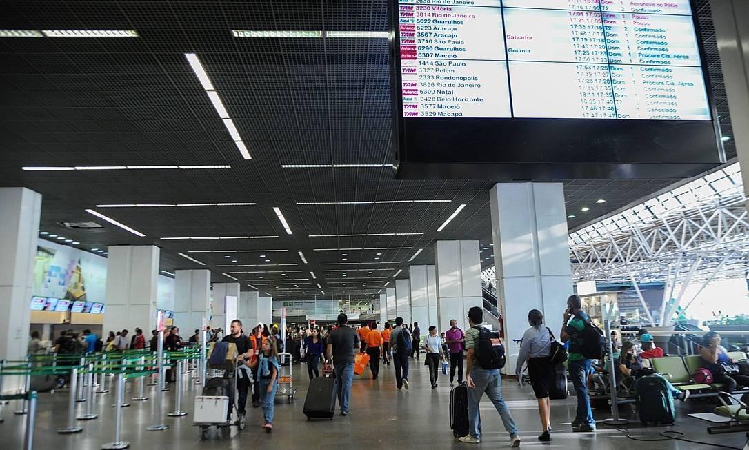 Recuperação de voos internacionais tem sido mais lenta do que a de viagens nacionais Foto: José Cruz/Agência Brasil