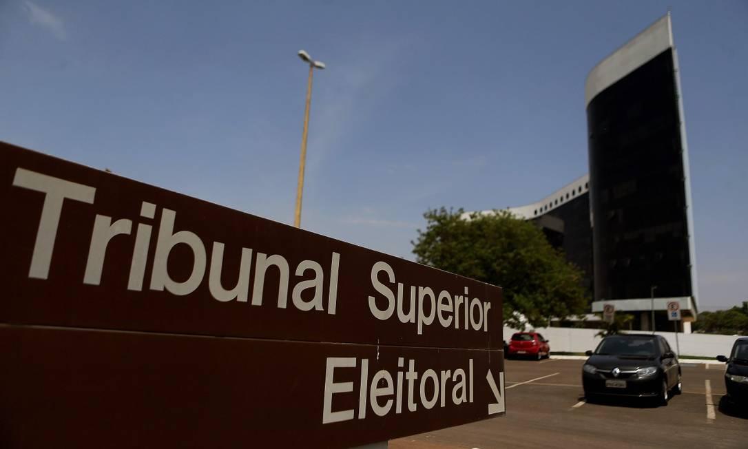 Tribunal Superior Eleitoral é o órgão responsável por organizar as eleições no país Foto: Jorge William / Agência O Globo