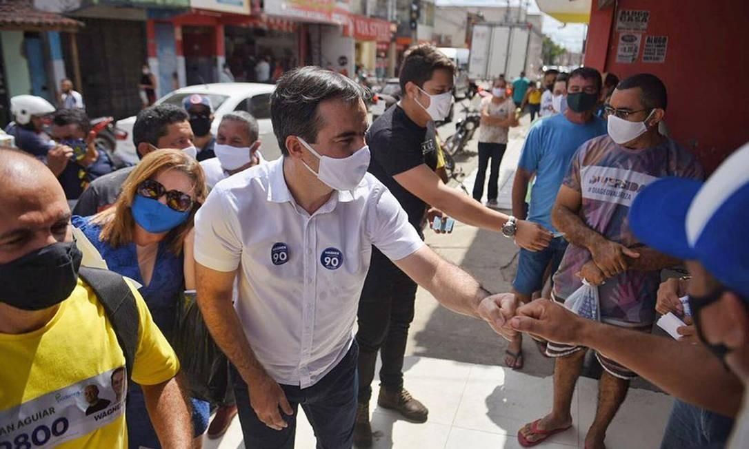 O candidato do PROS à Prefeitura de Fortaleza, Capitão Wagner Foto: Reprodução / Facebook