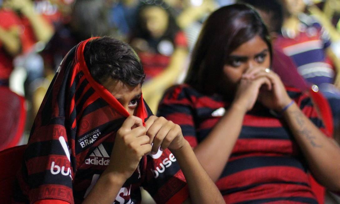 Cena de 'Aqui é Flamengo', em cartaz no Cinefoot Foto: Divulgação