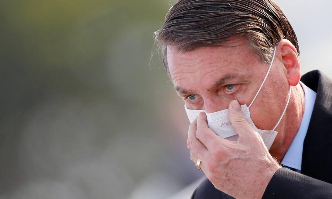Presidente Jair Bolsonaro Foto: ADRIANO MACHADO/REUTERS