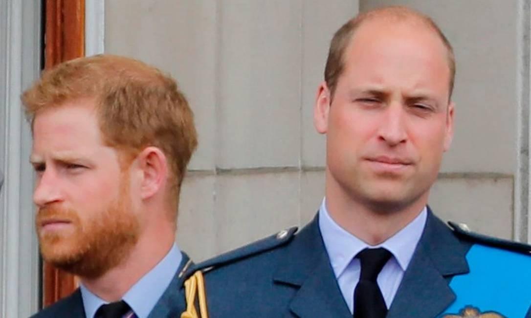 Príncipes Harry e William Foto: AFP/Getty