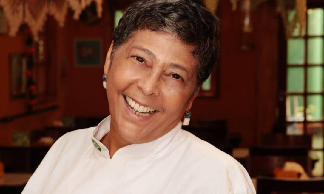 Kátia Barbosa: fundadora do Aconchego Carioca e inventora do bolinho de feijoada Foto: Berg Silva / divulgação