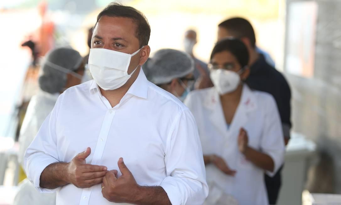 O prefeito de Niterói, Rodrigo Neves, tem diagnóstico positivo para Covid-19 Foto: Pedro Teixeira em 03-06-2020 / Agência O Globo