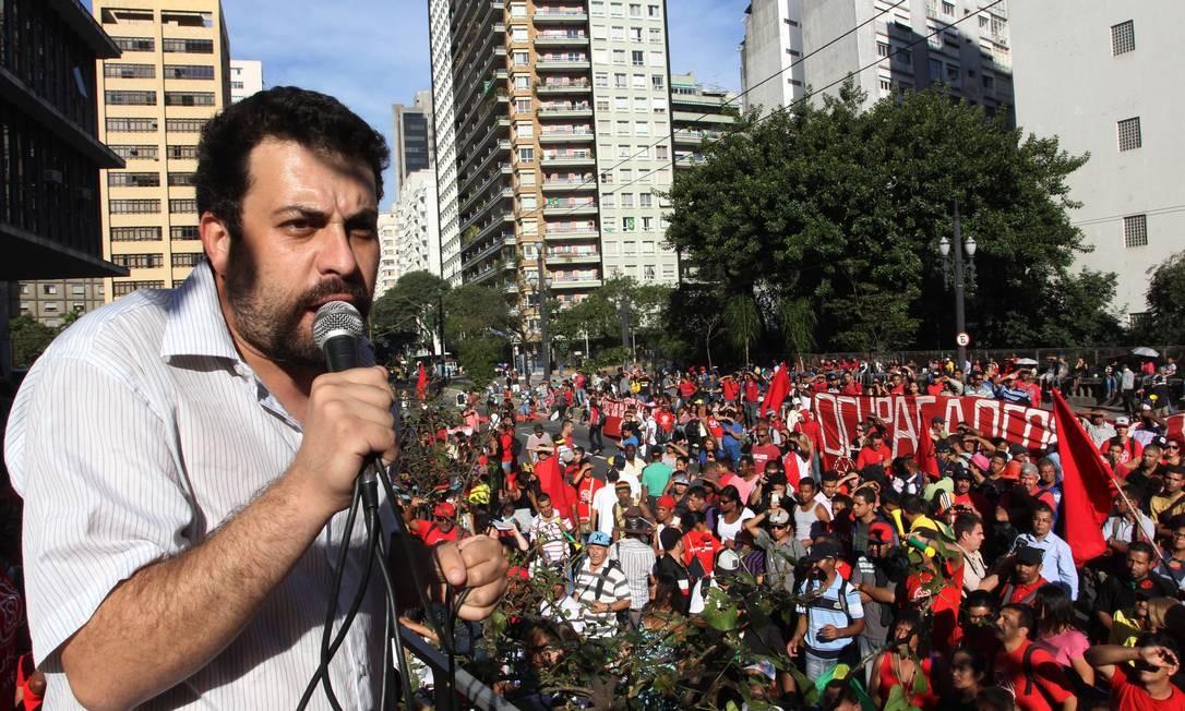 Guilherme Boulos Foto: Fernando Donasci