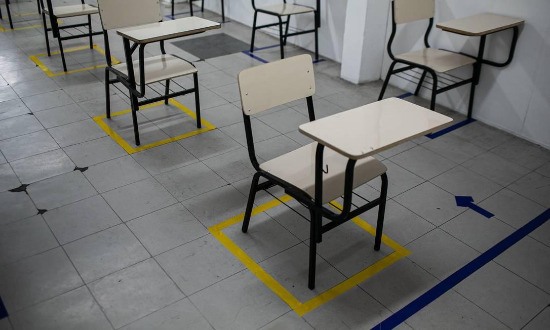 Juíza determinou a reabertura de creches e unidades de educação infantil e ensino fundamental em Niterói Foto: Hermes de Paula / Agência O Globo