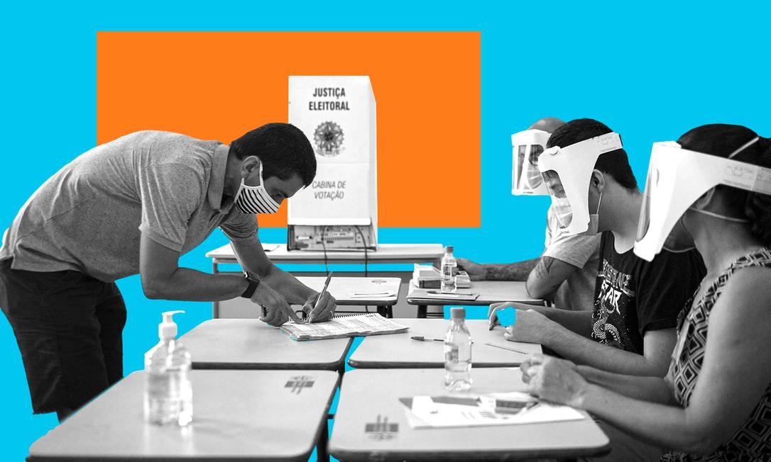 Perdeu a chance de votar no primeiro turno? Saiba aqui como participar do segundo Foto: Editoria de arte