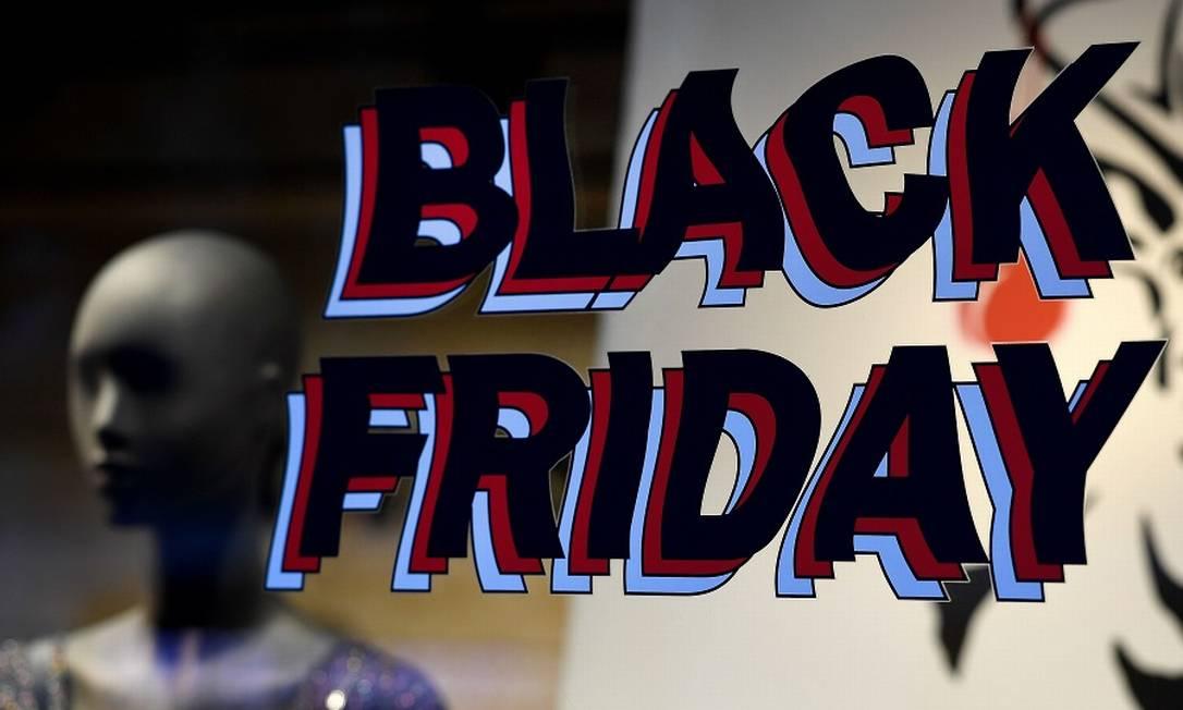 Black Friday com descontos menores este ano Foto: GABRIEL BOUYS / AFP