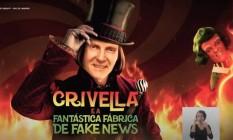 Campanha de Eduardo Paes acusa Crivella de espalhar fake news Foto: Reprodução