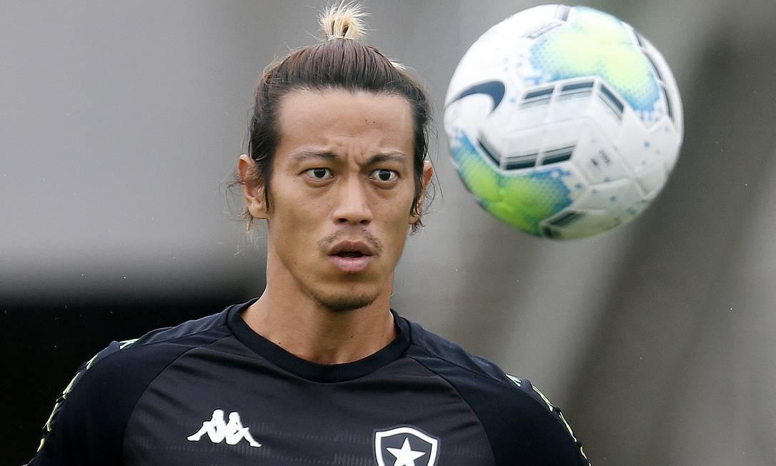 Keisuke Honda, principal jogador do Botafogo Foto: Vitor_Silva / Vitor Silva/Botafogo