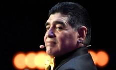 Diego Maradona sofreu parada cardíaca Foto: ALEXANDER NEMENOV / AFP