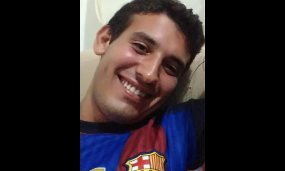 Joel Lemes, de 26 anos, é um dos feridos em estado grave Foto: Reprodução
