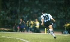 ES Rio de Janeiro (RJ) 25 / 11 / 2020 - Diego Maradona.REPRODUÇÃO. Foto: RePRODUÇÃO / Agência O Globo