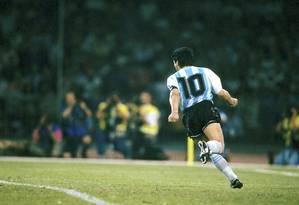 ES Río de Janeiro (RJ) 25/11/2020 - Diego Maradona.  REPRODUCCIÓN.  Foto: Reimpresión / Agensia o Globo