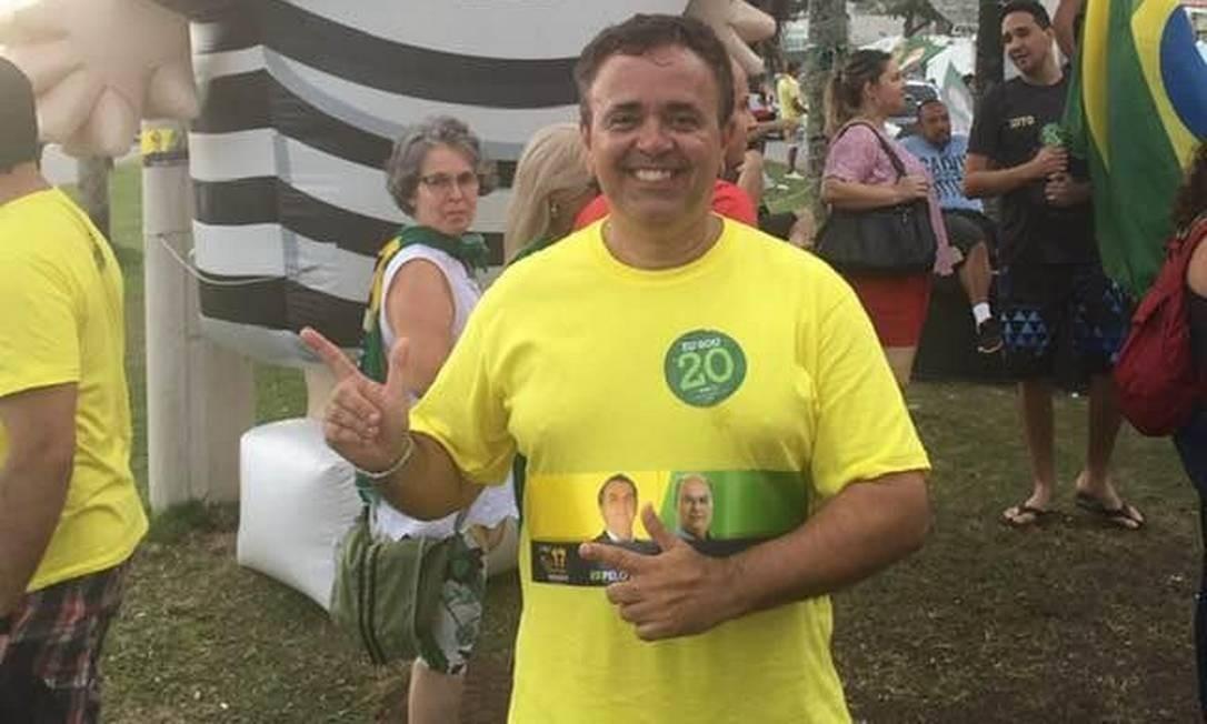 Procurador Marcelo Rocha Monteiro, candidato de Flávio Bolsonaro para chefiar MP fluminense Foto: Reprodução