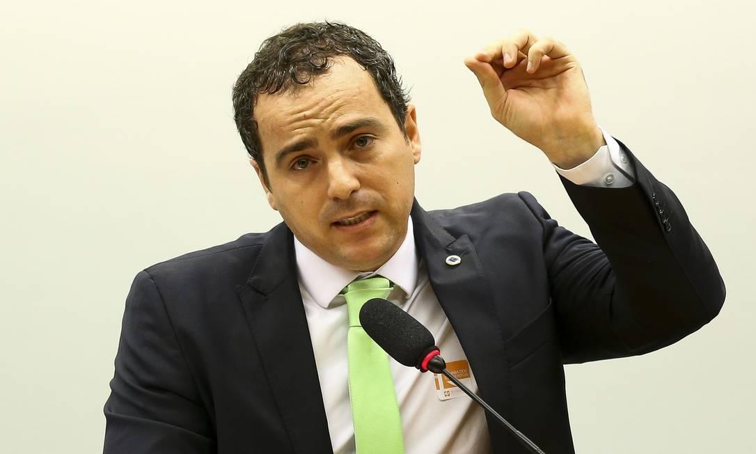 O presidente do IBAMA, Eduardo Fortunato Bim, durante audiência pública na Câmara, em 22 de outubro de 2019 Foto: Marcelo Camargo / Agência O Globo