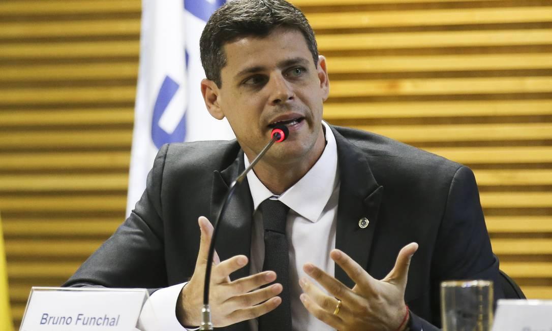 O secretário especial de Tesouro e Orçamento, Bruno Funchal Foto: Antonio Cruz / Agência Brasil
