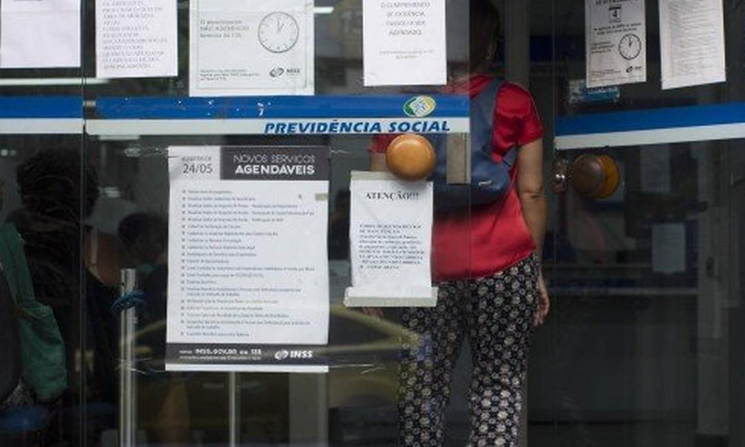 Novos benefícios podem ser afetados por maior expectativa de vida Foto: Agência O Globo