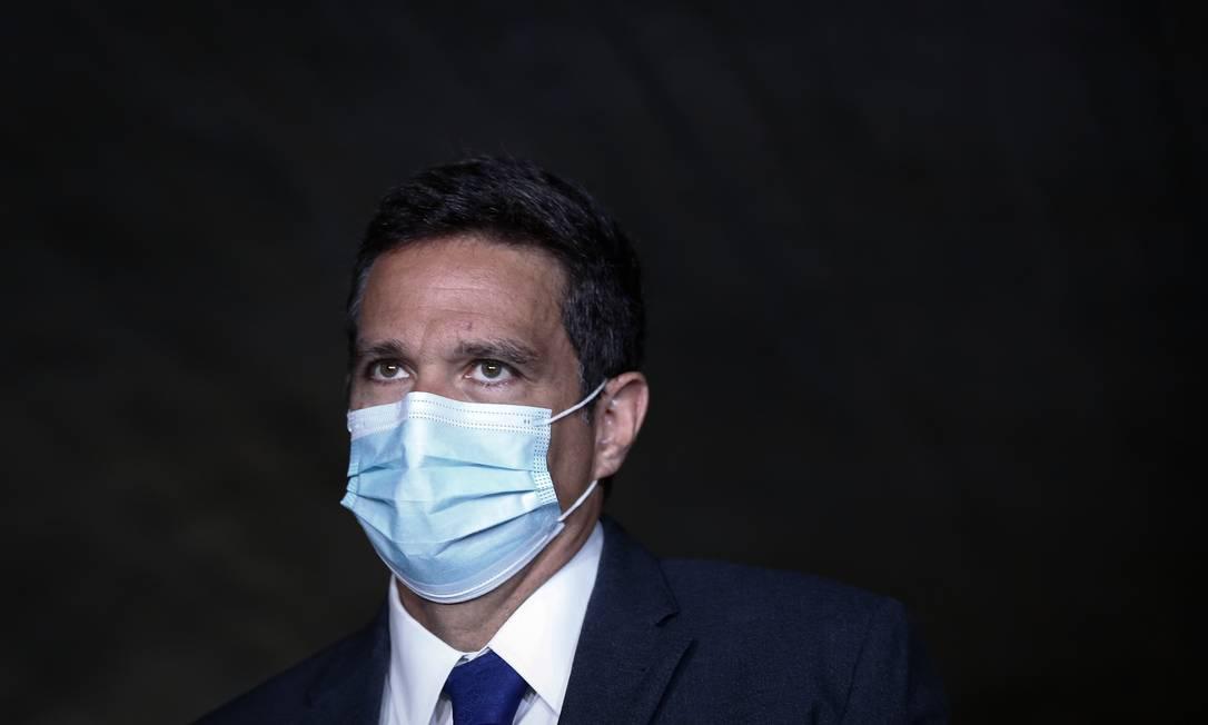 Campos Neto afirmou que sua fala não foi uma crítica ao ministro da Economia Foto: Pablo Jacob / Agência O Globo