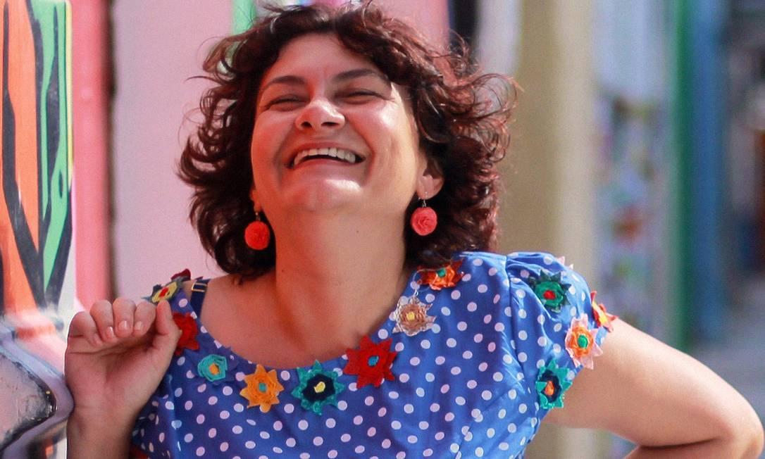 A poeta pernambucana Cida Pedrosa Foto: Rick Rodrigs / Divulgação