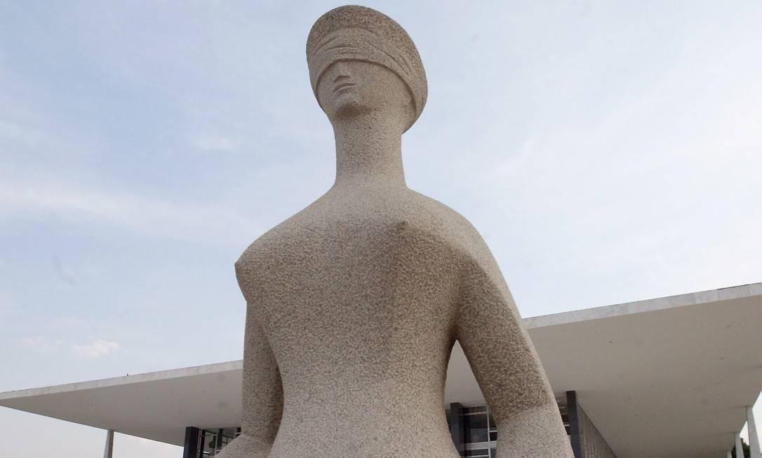 O prédio do Supremo Tribunal Federal (STF), em Brasília Foto: Givaldo Barbosa / Agência O Globo