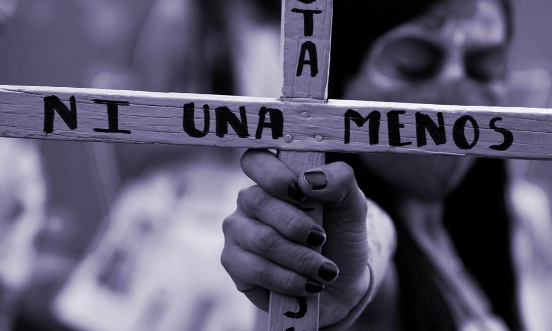 'Toda mulher tem direito a ser livre de violência, tanto na esfera pública como na esfera privada', diz o artigo terceiro daConvenção Interamericana para Prevenir, Punir e Erradicar a Violência Contra a Mulher, a Convenção de Belém do Pará Foto: AFP