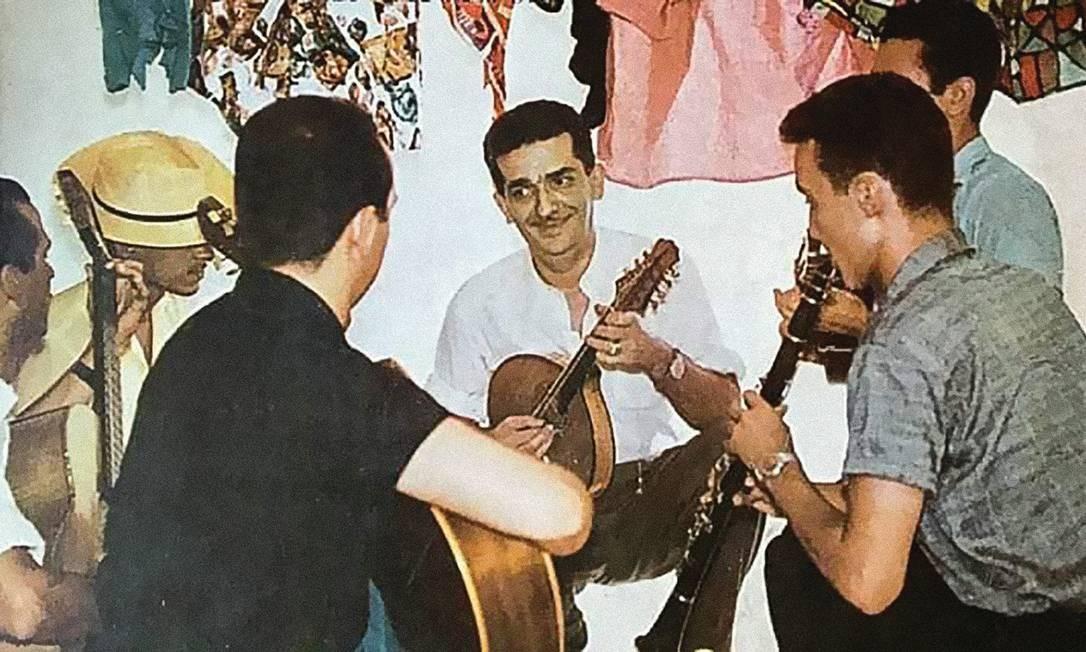 Jacob do Bandolim e seus músicos Foto: Instituto Jacob do Bandolim / Divulgação
