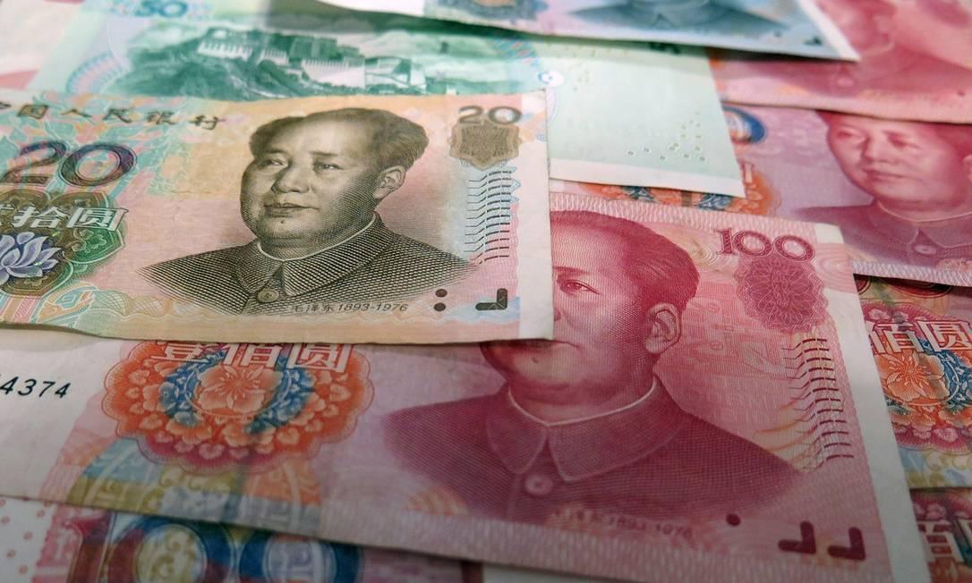 Notas de yuan: China de olho no Brasil Foto: Pixabay