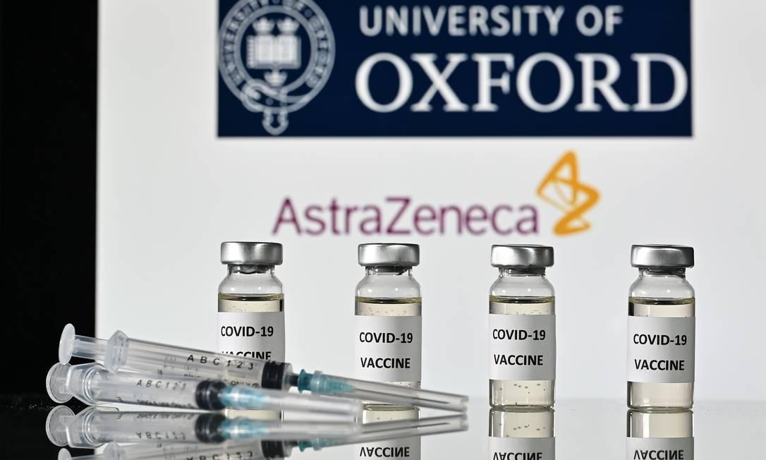Vacina que está sendo desenvolvida pela Universidade de Oxford Foto: JUSTIN TALLIS / AFP