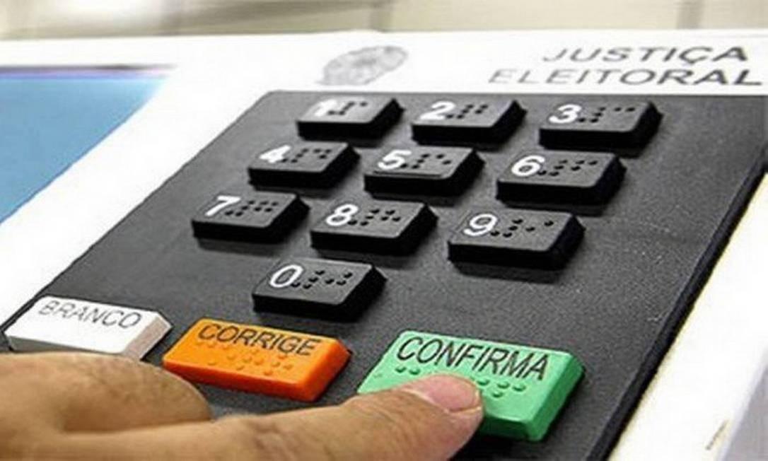 Segundo turno das eleições municipais acontece no domingo Foto: Infoglobo