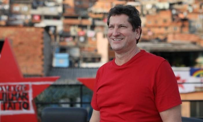 Jilmar Tatto registrou pior resultado para o partido em São Paulo na História Foto: Foto: Agência O Globo