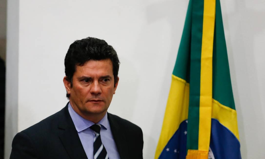 Ex-ministro e ex-juiz da Lava-Jato, Moro ingressa na iniciativa privada Foto: Pablo Jacob / Agência O Globo