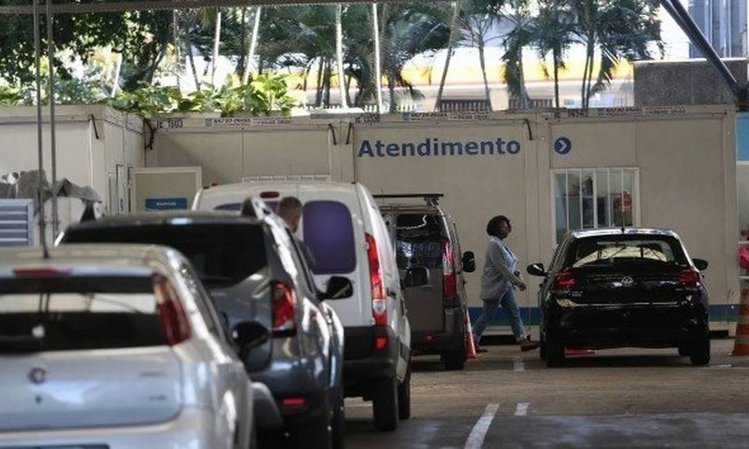Os serviços do Detran.RJ precisam ser agendados pela internet Foto: Pedro Teixeira / O Globo
