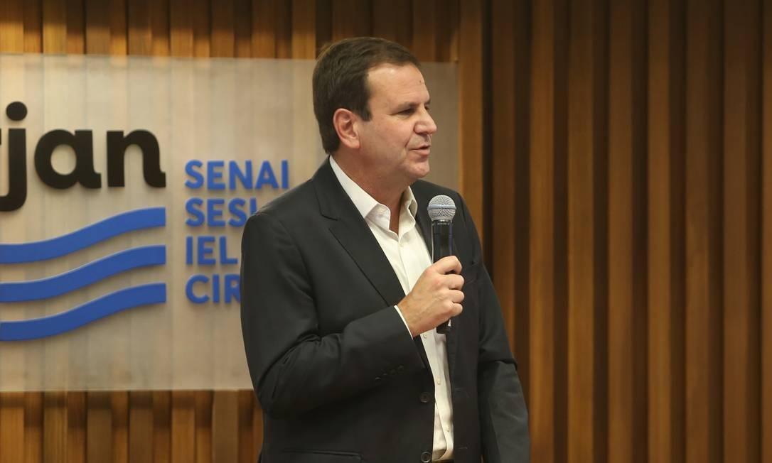Eduardo Paes é o prefeito eleito do Rio Foto: Pedro Teixeira / Agência O Globo