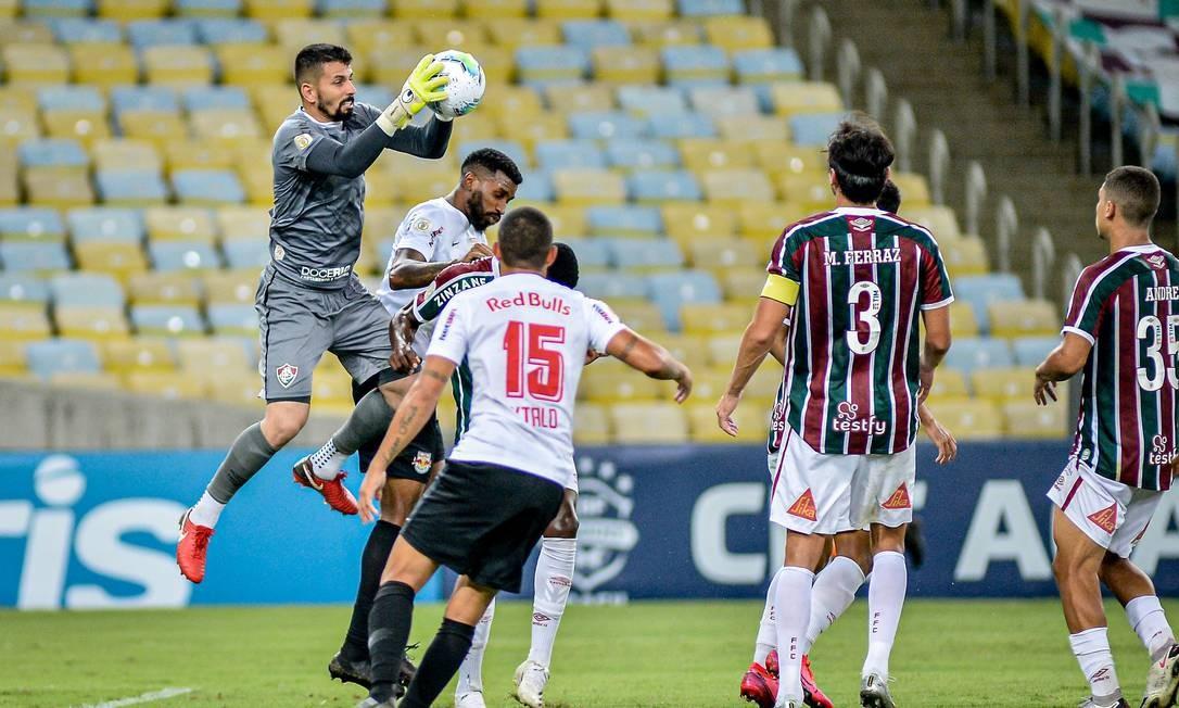 Fluminense x Bragantino Foto: Fotoarena / Agência O Globo