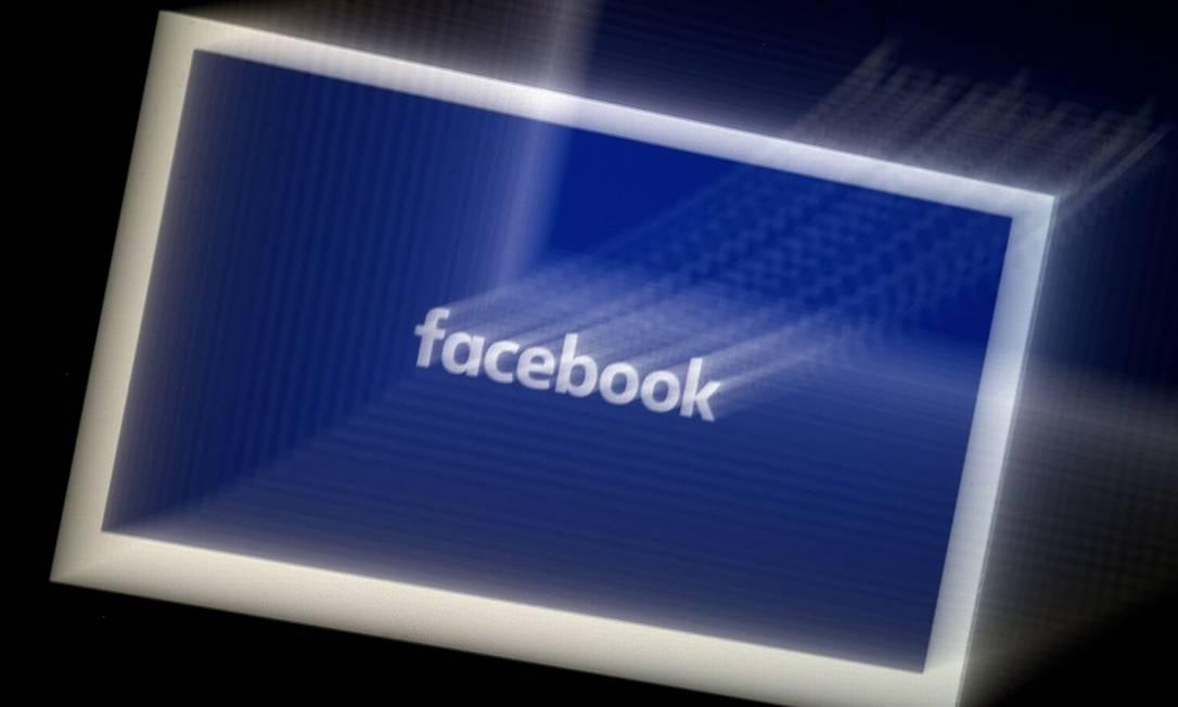 Facebook: processo à vista Foto: OLIVIER DOULIERY / AFP