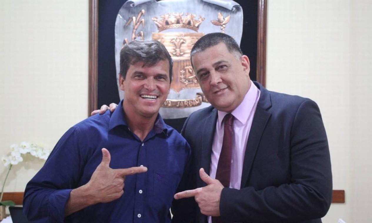 Jaime Figueiredo (PROS), Silva Jardim Foto: Divulgação