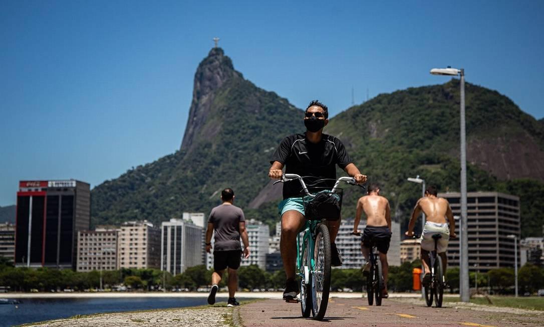 Hábitos de lazer dos brasileiros mudaram e bicicleta ganha destaque Foto: Hermes de Paula / Agência O Globo