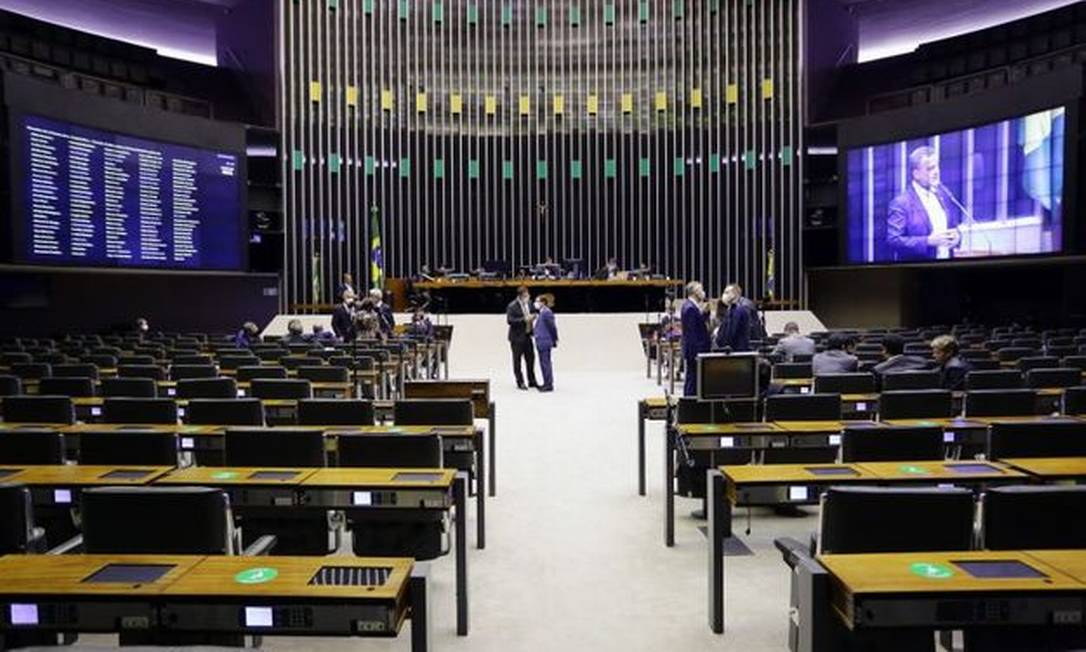 Plenário da Câmara dos Deputados Foto: Câmara dos Deputados