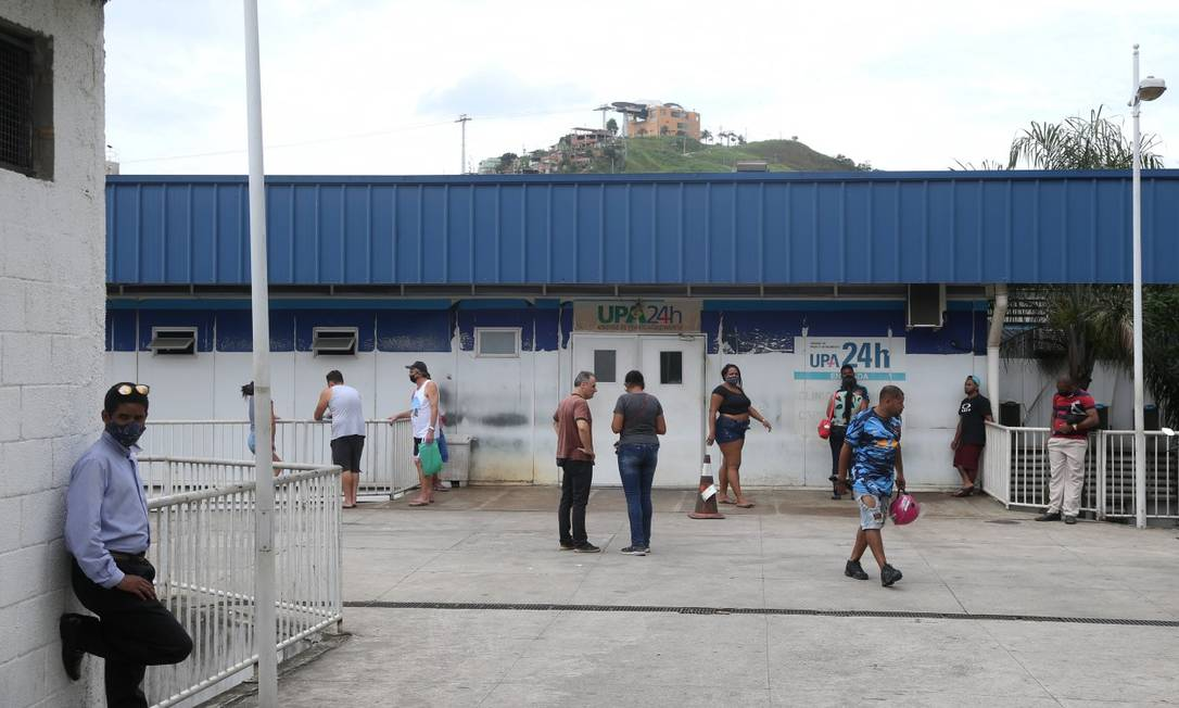 Pressão sobre a rede pública tem aumentado nos últimos dias com aumento de casos de Covid-19 Foto: Pedro Teixeira em 22-11-2020 / Agência O Globo
