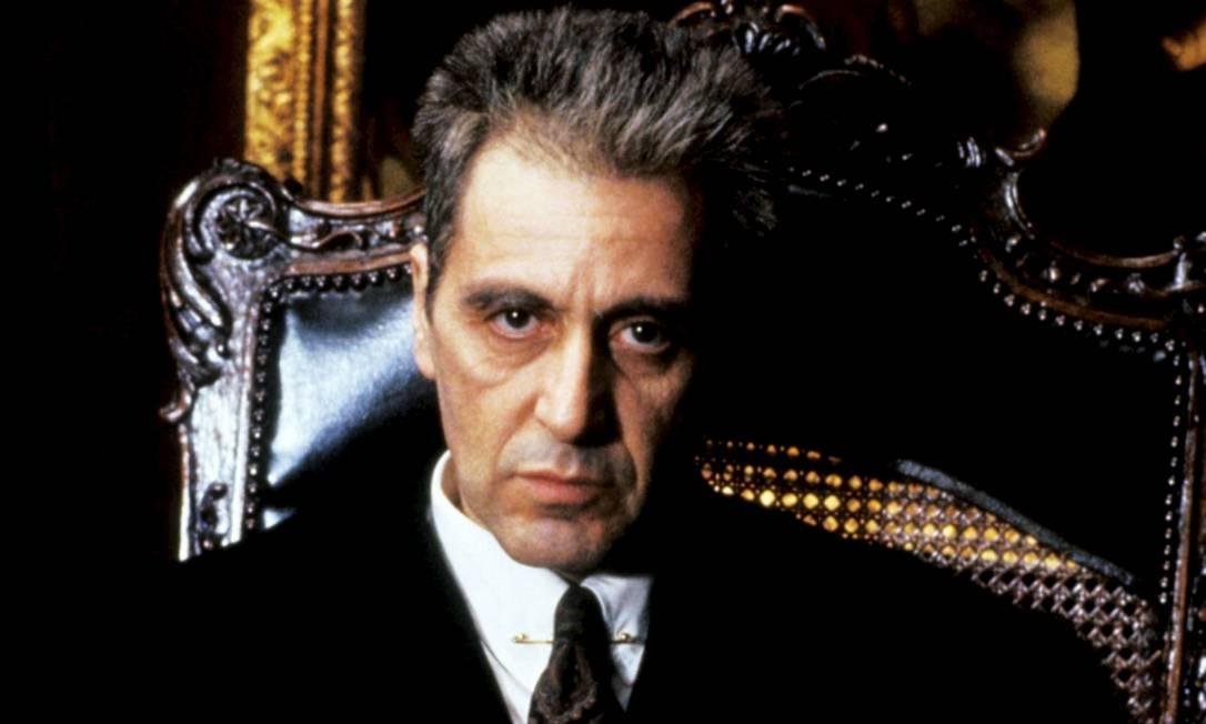 Al Pacino em 'O Poderoso Chefão - Desfecho: A Morte de Michael Corleone' Foto: Divulgação