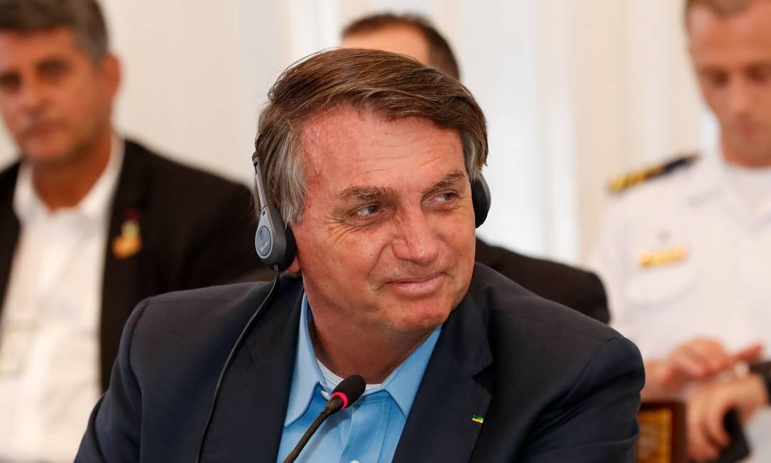 Presidente Jair Bolsonaro Foto: Alan Santos/PR