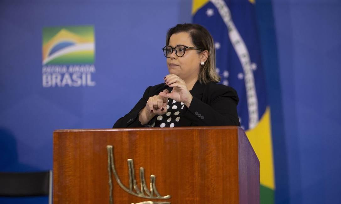 Surda, secretária nacional da pessoa com deficiência diz ter sido barrada  em evento no Planalto - Jornal O Globo
