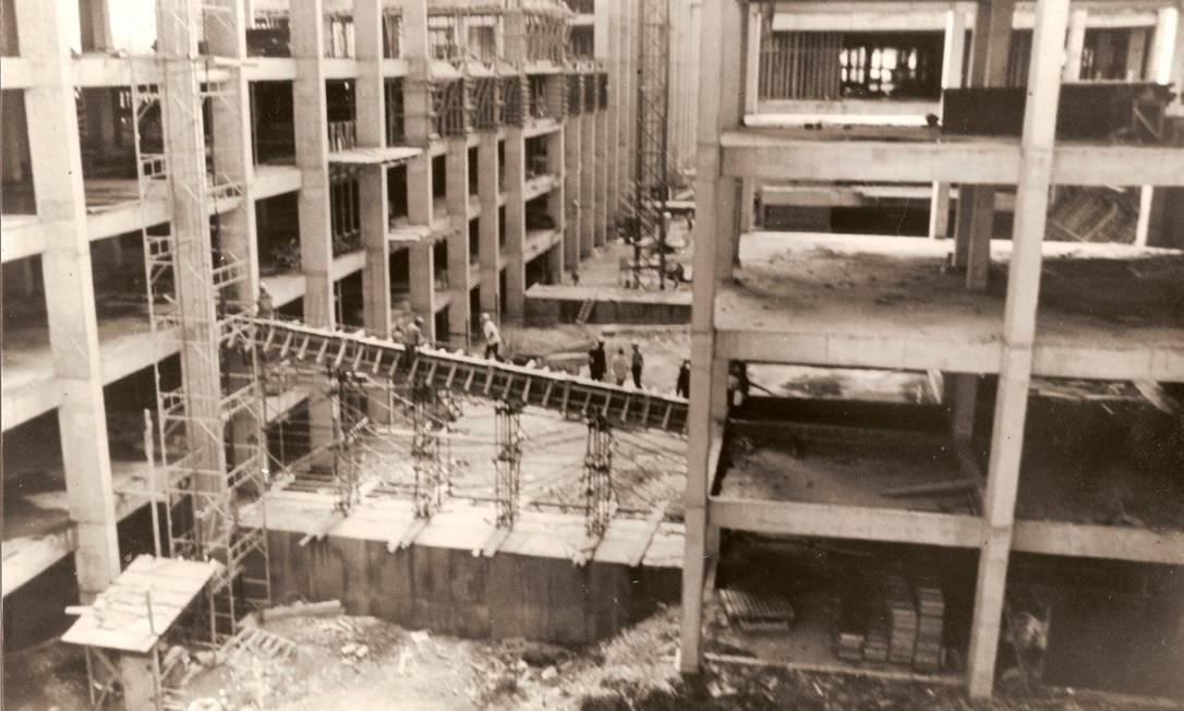 Prédio da Uerj foi construído entre 1969 e 1976 Foto: Divulgação/UERJ