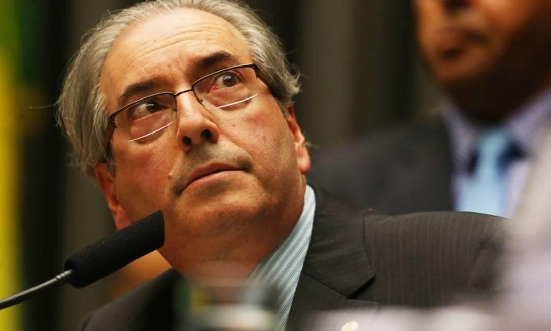 Eduardo Cunha (MDB-RJ). Presidiu de 2015 a 2016 Foto: Ailton de Freitas / Agência O Globo