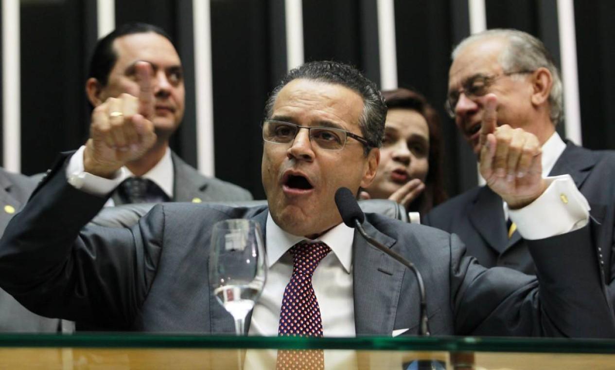 Henrique Eduardo Alves (PMDB-RN) - 2013/2014 Foto: Aílton de Freitas / Agência O Globo