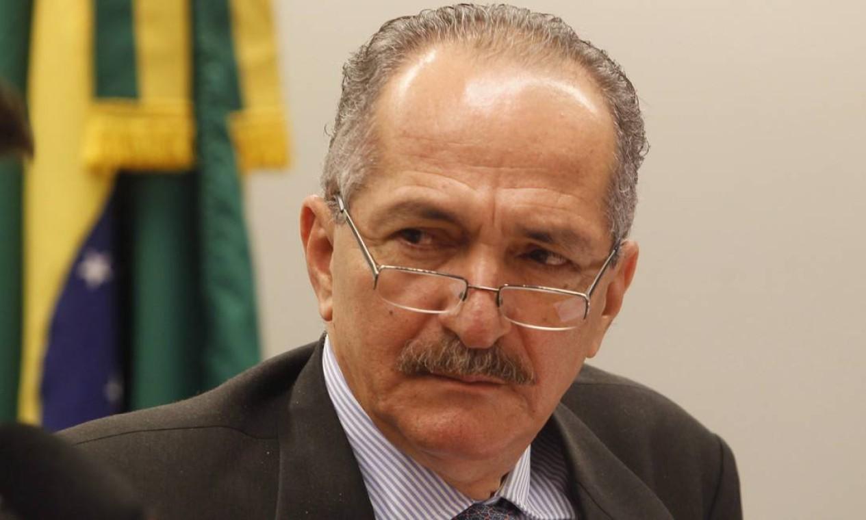 Aldo Rebelo (PCdoB-SP) - 2005/2007 Foto: Givaldo Barbosa / Agência O Globo